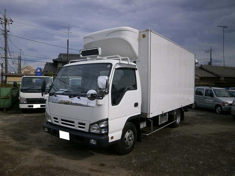 2tワイドロング 冷蔵冷凍車(中温) 観音式 高床