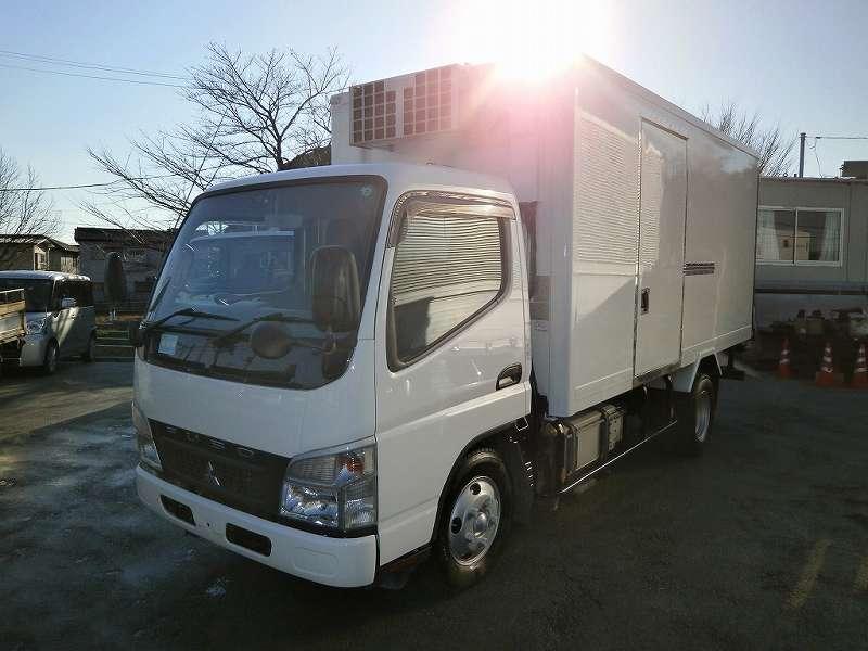 3t標準ロング 冷蔵冷凍車(中温) 観音式3枚 サイドドア ハイブリッド 高床