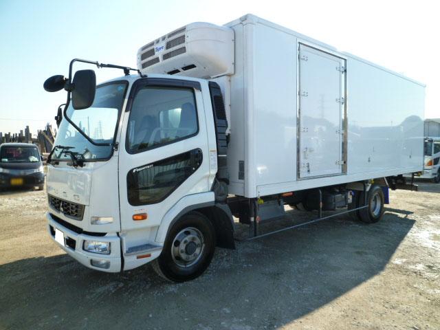4tワイド 冷蔵冷凍車(低温) 観音式 サイドドア ベットレス